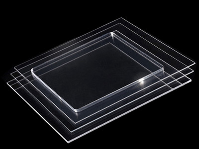 Transparent board
